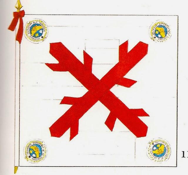 Bandera del Batallón de Infantería de Voluntarios Distinguidos de la Concordia (Perú)