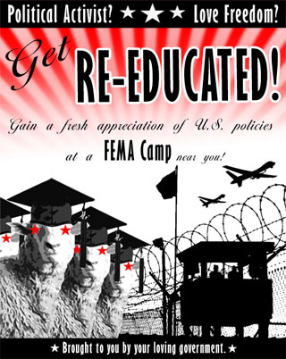 obama and his fema camps