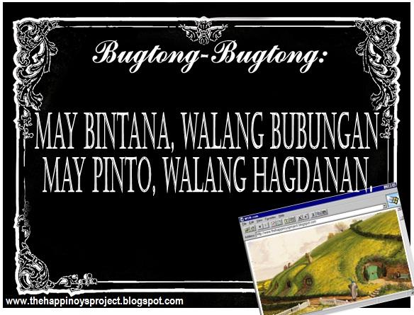 Bugtong Bisaya (Riddles in Visayas)