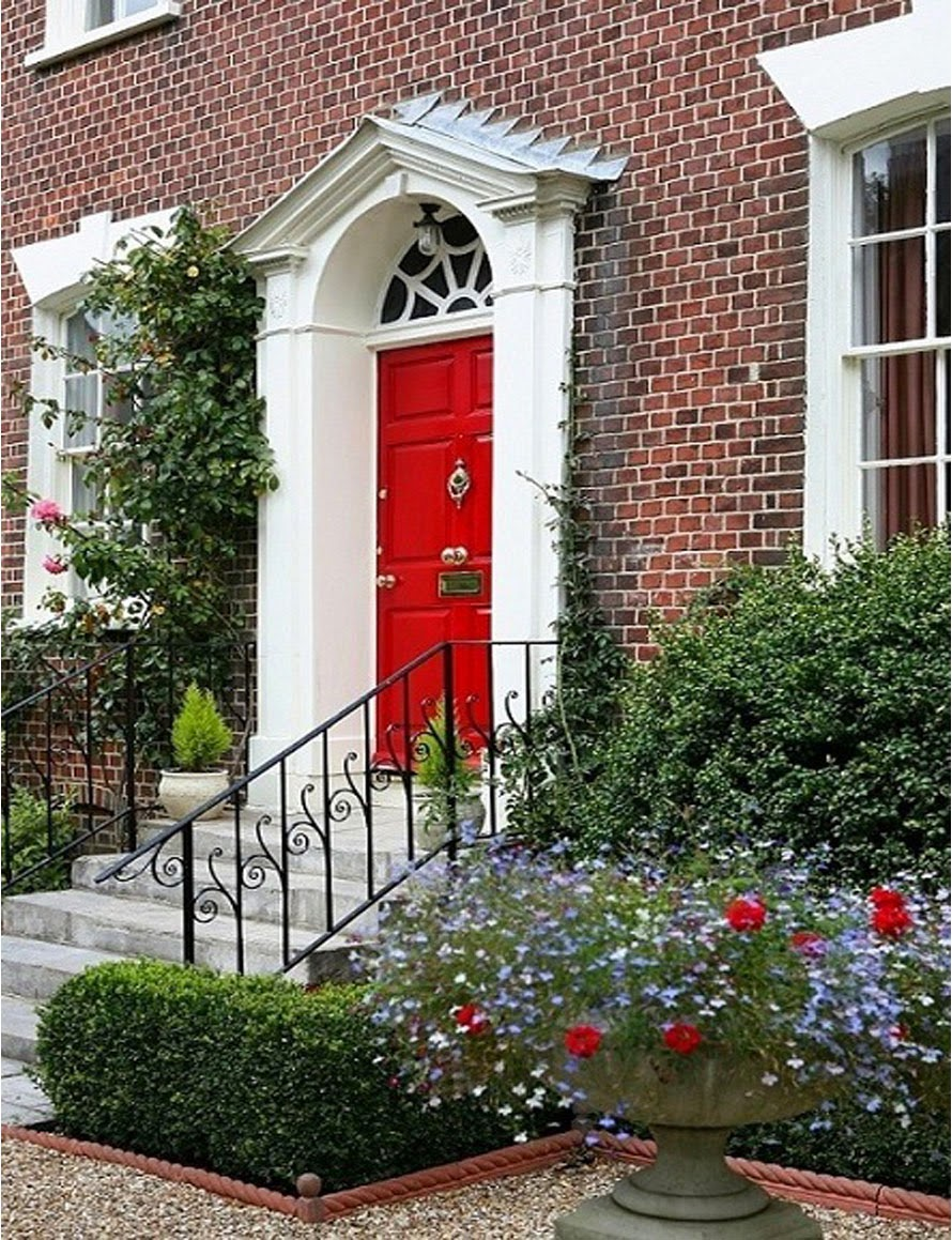 A Touch Of Southern Grace Storybook Red Doors