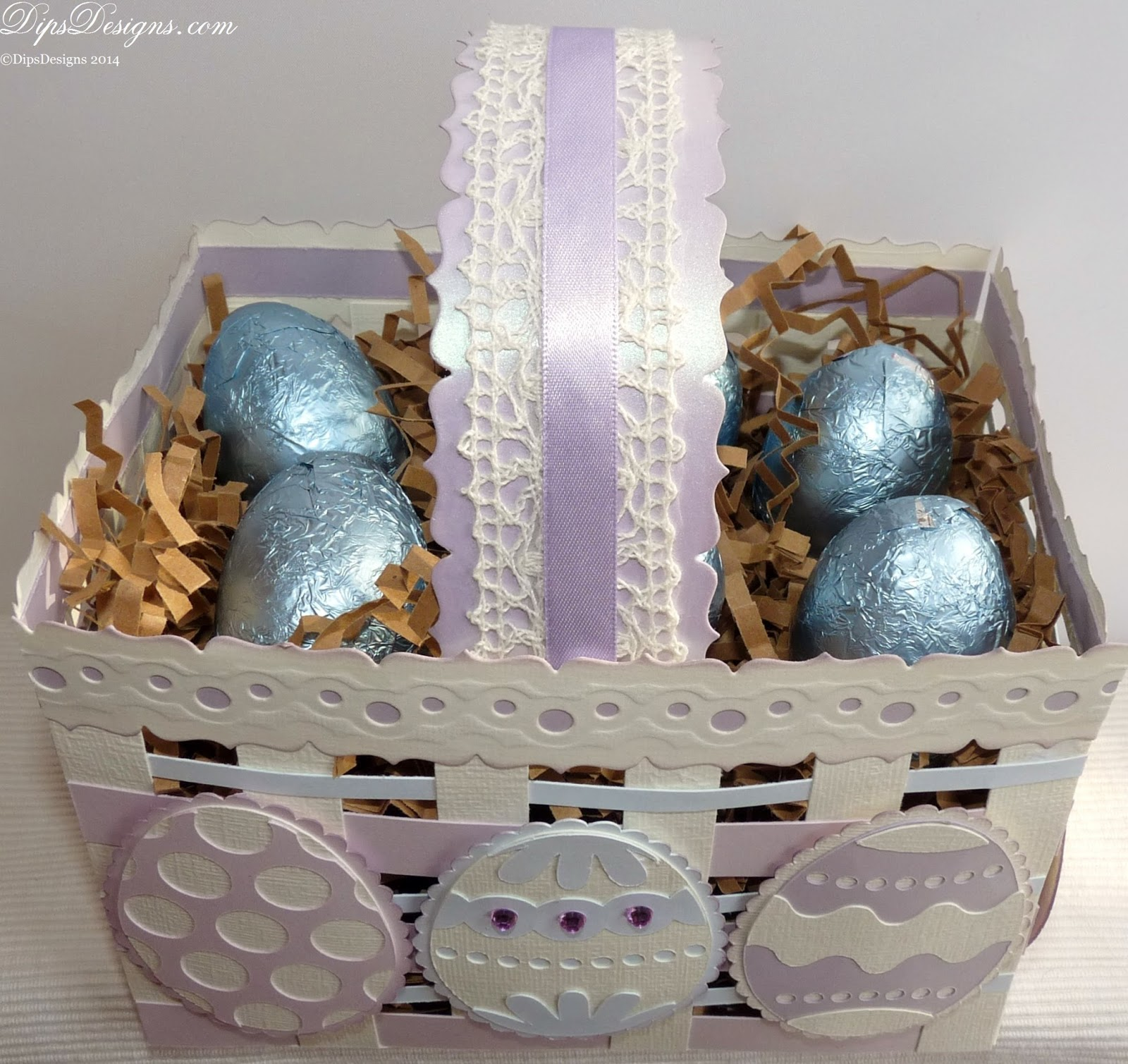 Handmade Woven Easter Basket Project