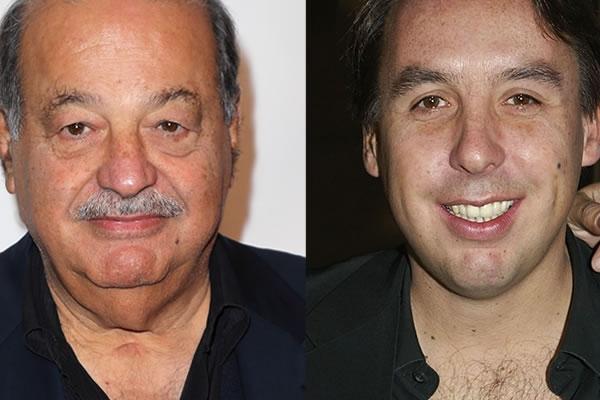 Carlos Slim y Emilio Azcárraga, dueños y magnates del futbol mexicano | Ximinia