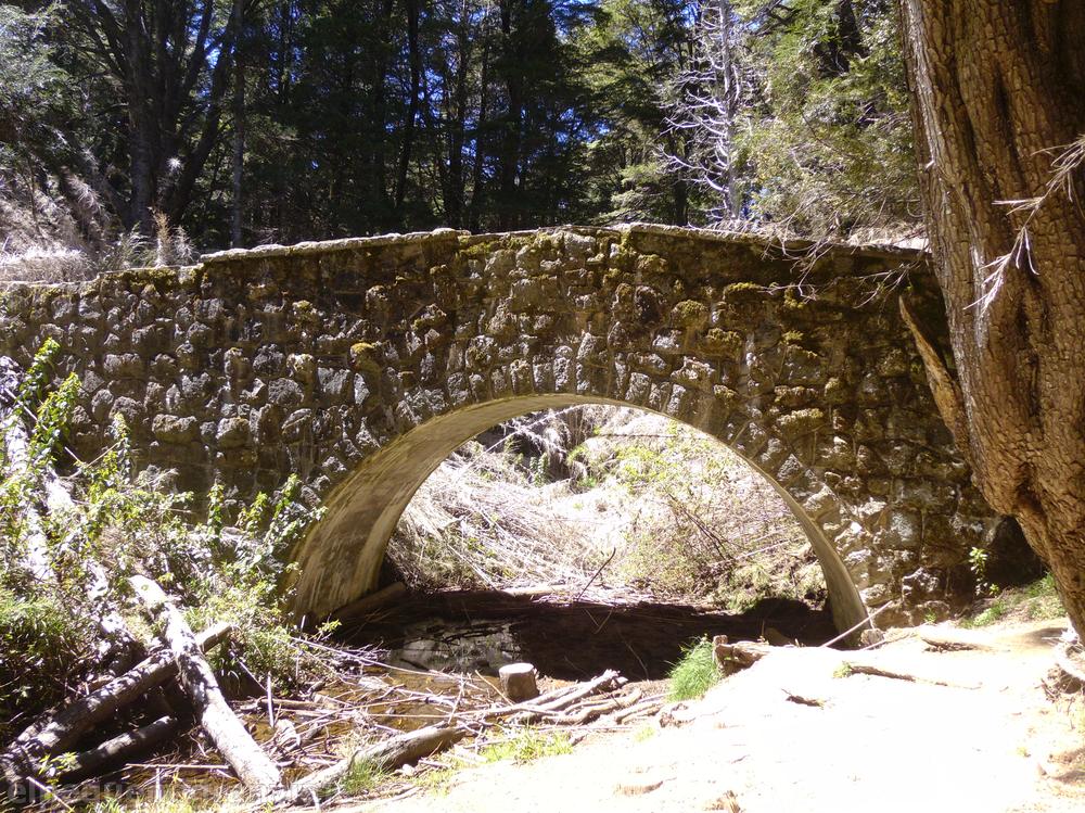 Bariloche, Puente Romano, senda