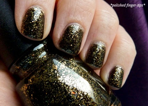 China Glaze Bat My Eyes - Natural Light