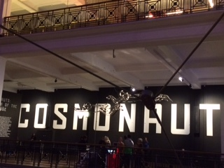 Cosmonauts' sign at the entrance to the Science Museum's Exhibition