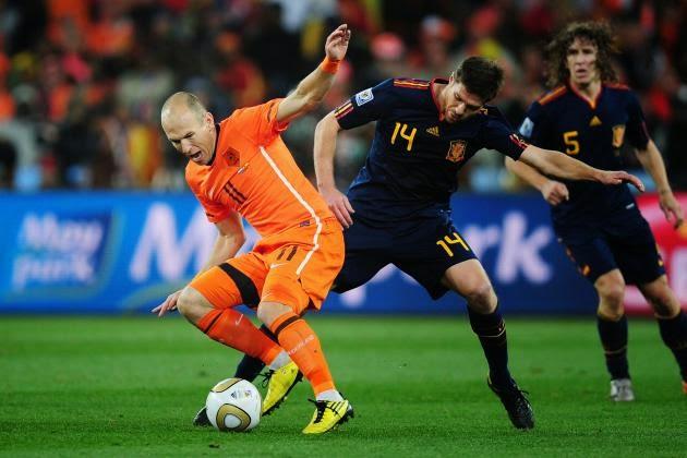 Arjen Robben dkk Tampil Impresif