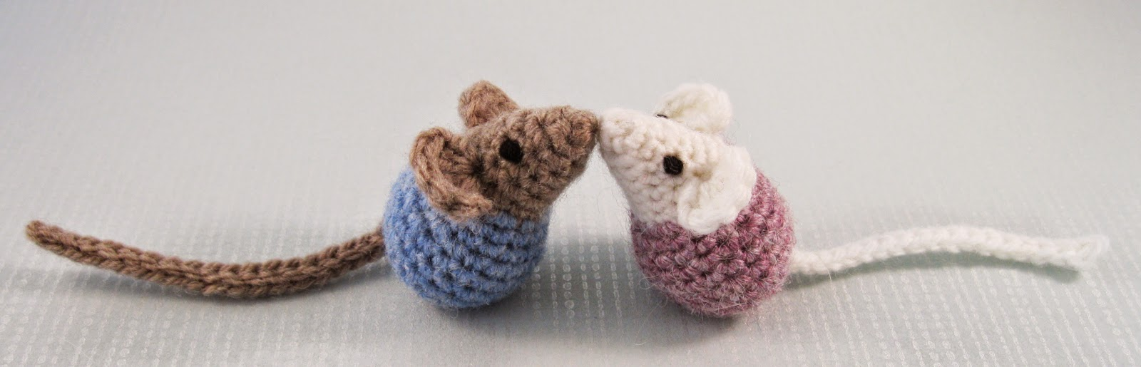 LucyRavenscar - Crochet Creatures: Little Kissing Mice - free ...