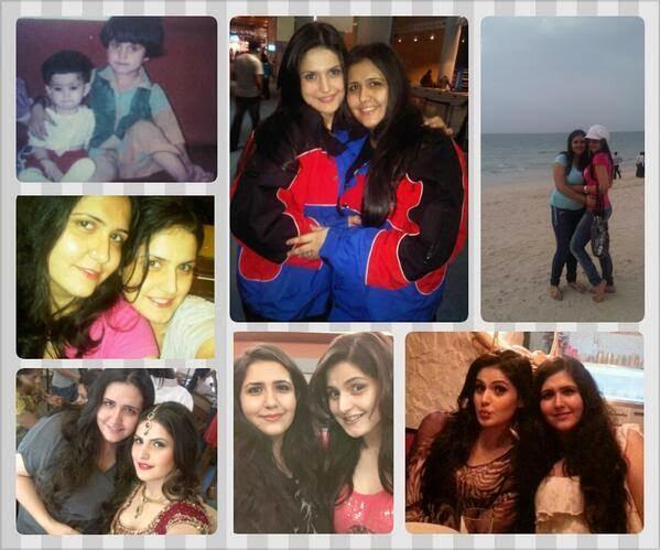 Zarine Khan at her Sisters Birthday celebration photo