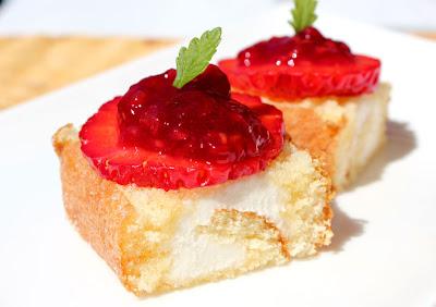 Pastelitos de fresa