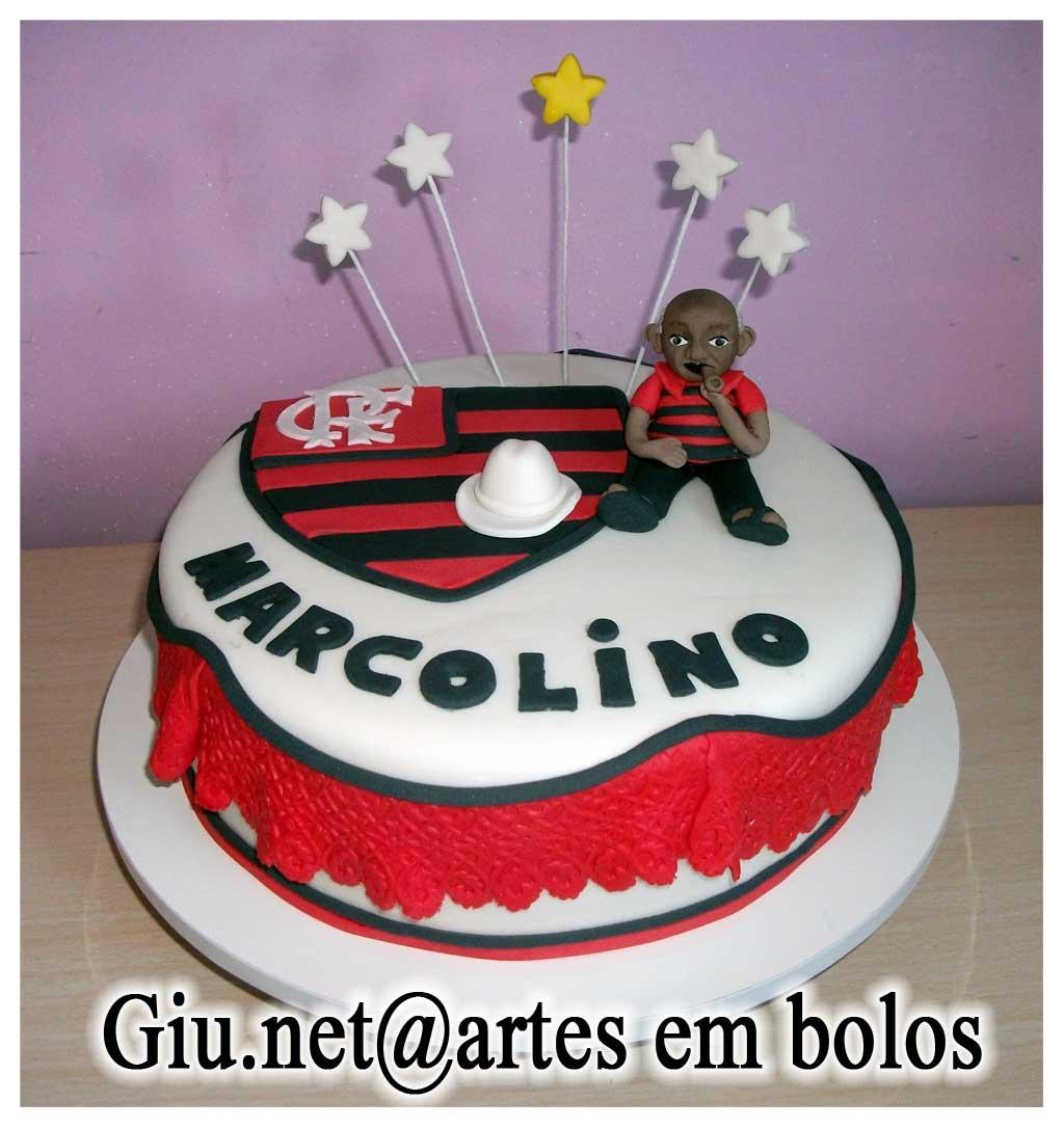 Bolo Do Flamengo   Bolos Da Giu