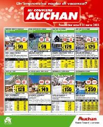 Volantino Auchan Vacanze