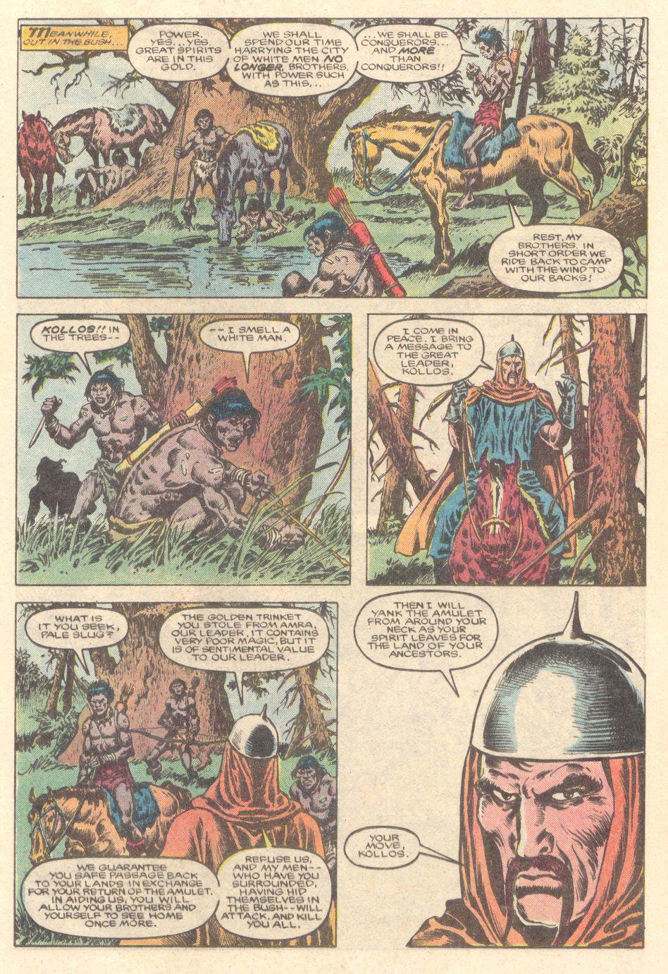 Conan the Barbarian (1970) Issue #183 #195 - English 12