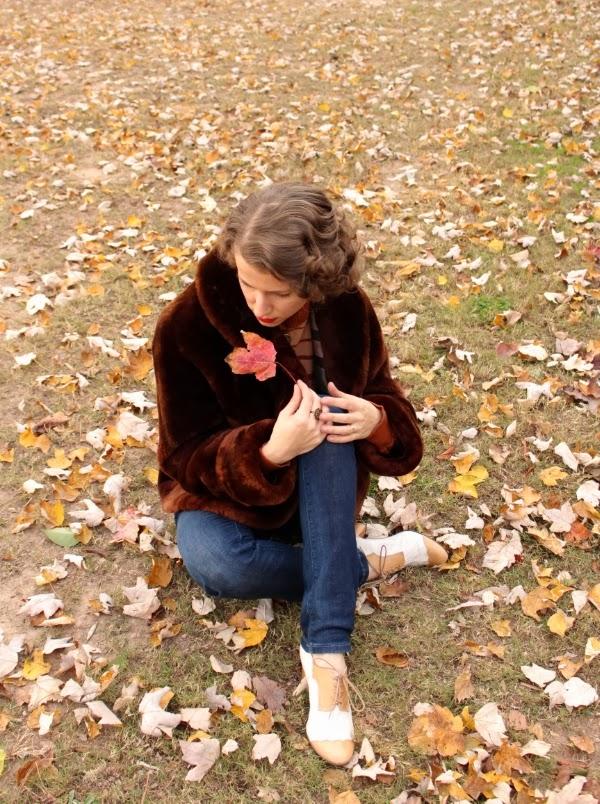 My Vintage Autumn #1940s #autumn #fashion #vintage #coat
