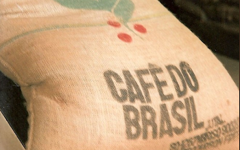 Caffe' crudo arabica santos do Brasil