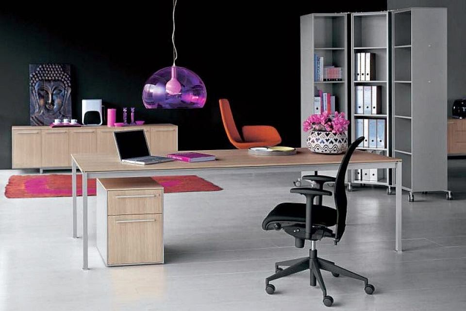 modern work office decorating ideas and tips - Office Decorating Ideas