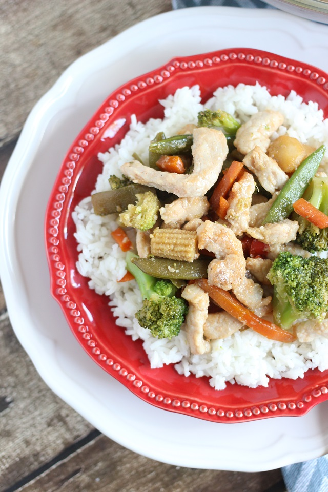 Easy Pork Stir Fry from Mama Loves Food