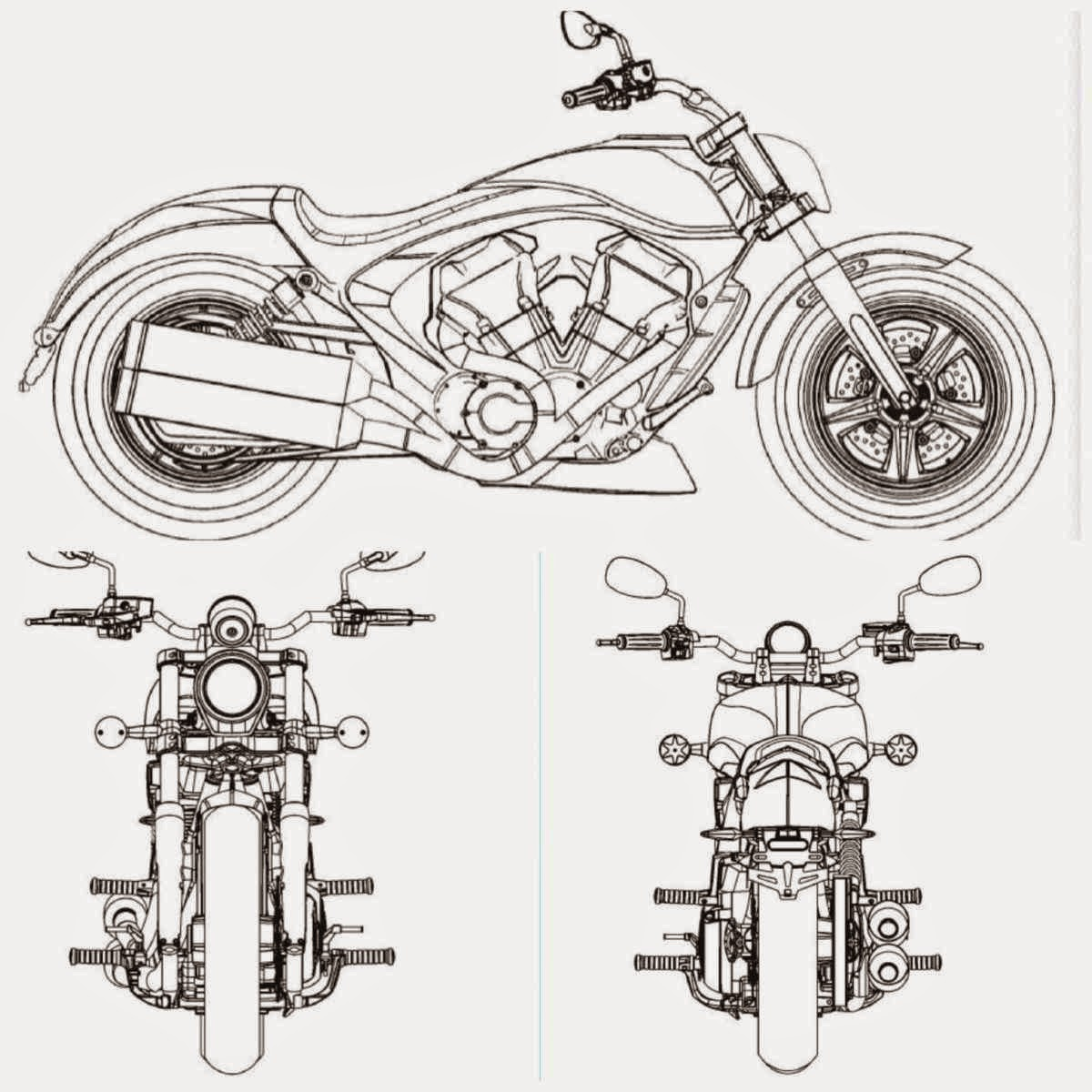Motorcycle Design By Ryan Black Macken. Is It A Future Victory Or An  Abandoned Scout Design?