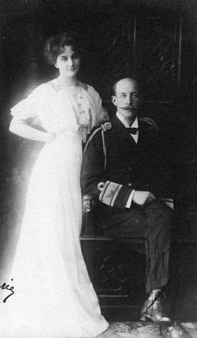 Prince Georges de Grèce et princesse Marie Bonaparte