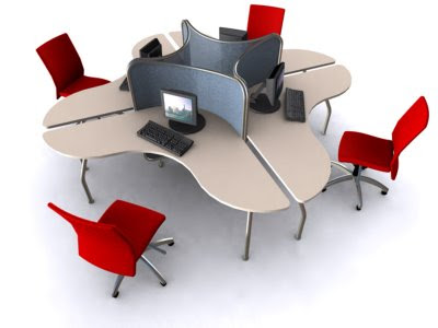 Practical Contemporary Office Furniture Design