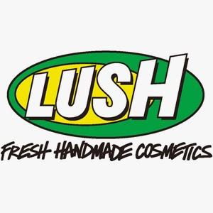 logo Lush, cosmétiques frais fait maison, starter kit, que choisir chez lush