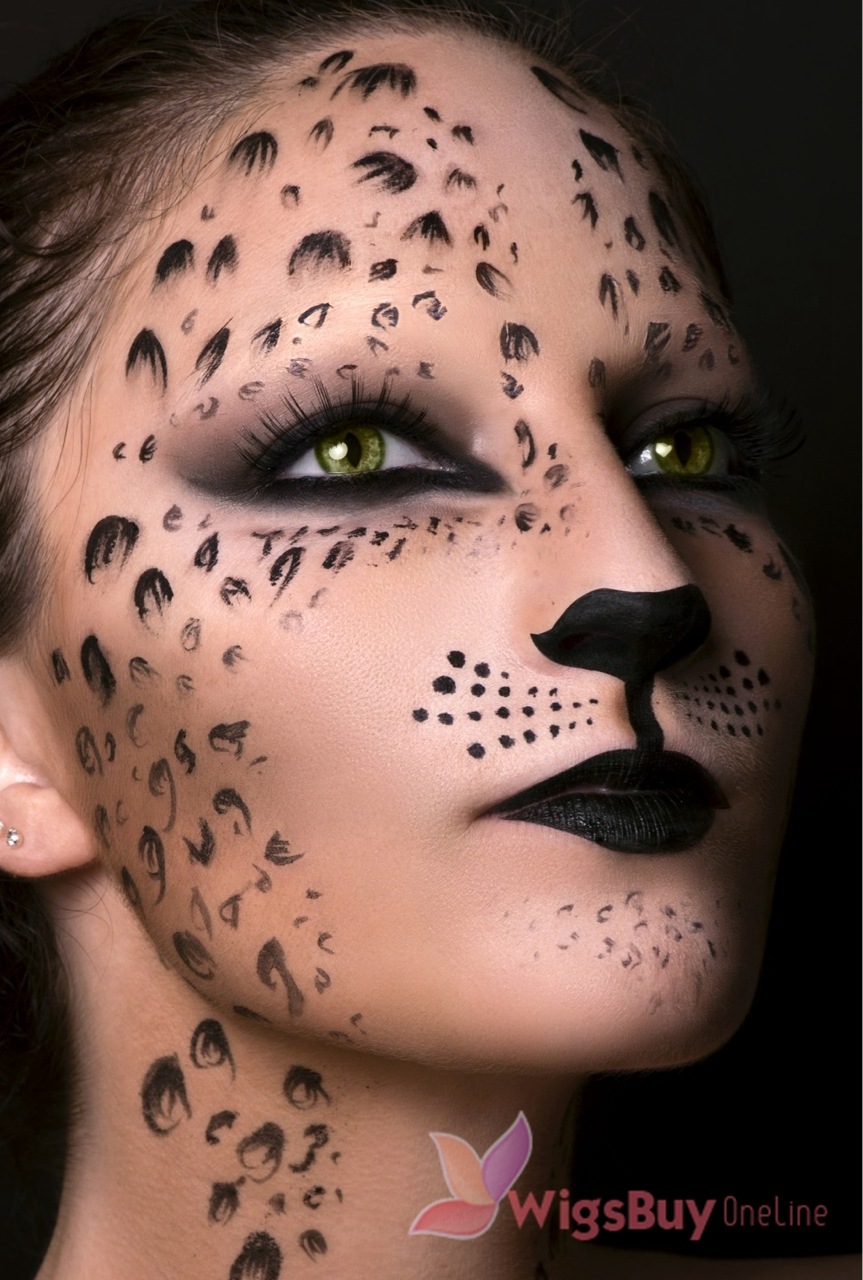WigsBuyOnline Blog: Sexy Leopard Makeup Idea