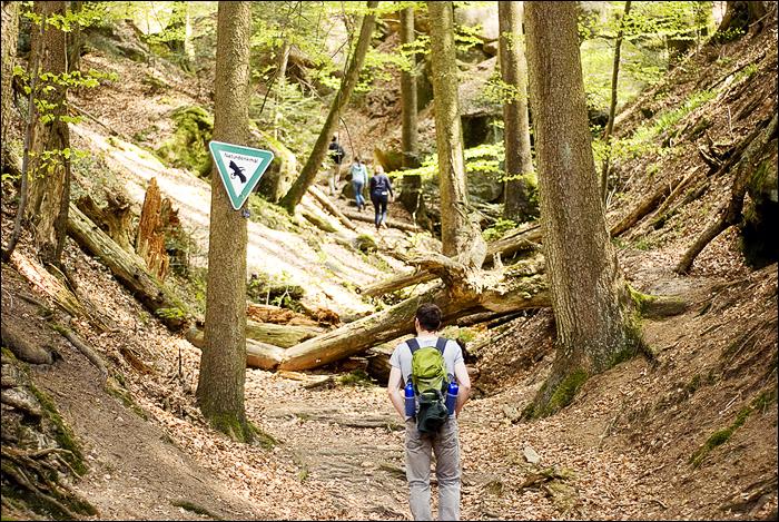 Wandern in Murrhardt, Gallenhöhle