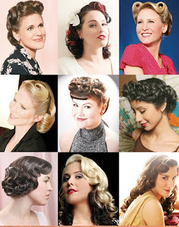 Pin Curl Hairstyles Picture Gallery - Pin Curl Hairstyle Ideas