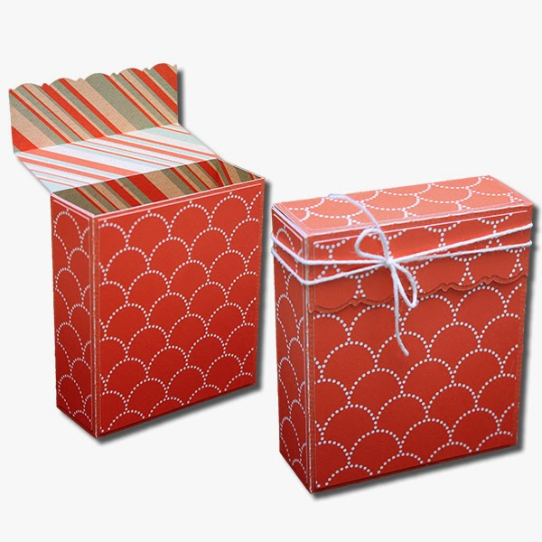 Decorative Cardboard Boxes For Gifts : Bits of paper flap over decorative gift boxes