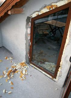 Sealing around the upstairs window
