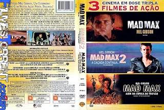 Baixar Filme Mad Max   3 Filmes Mad Max Trilogia DVDRip AVI Dublado