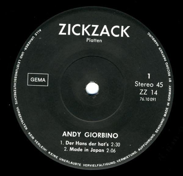 Andy Giorbino Kredit