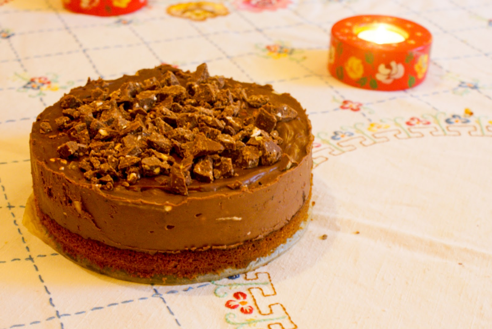 how to make toblerone cake