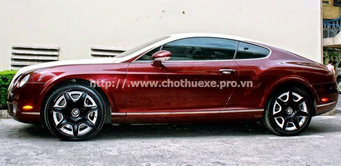 Cho thuê siêu xe Bentley Continental GT