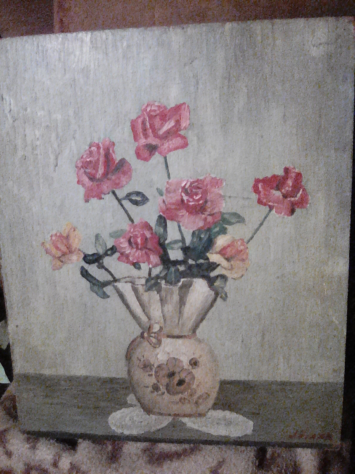 عمل فني قديم جدا لرسام عالمي j.viada للبيع /A very old art work by a global painter j.viada for sal