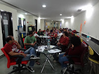 Photo gallery of agile training at Arrk