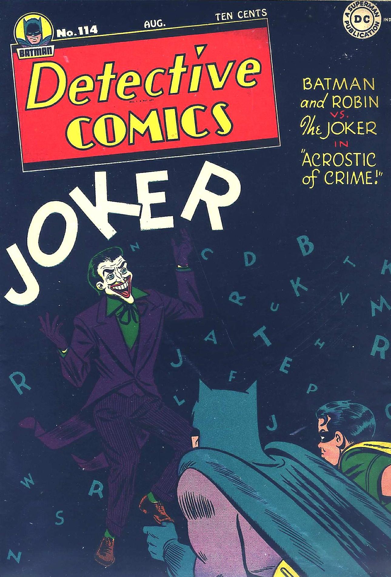 Detective Comics (1937) 114 Page 1