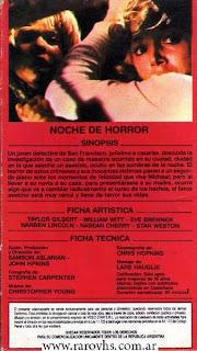 Torment (1986) Noche de Horror