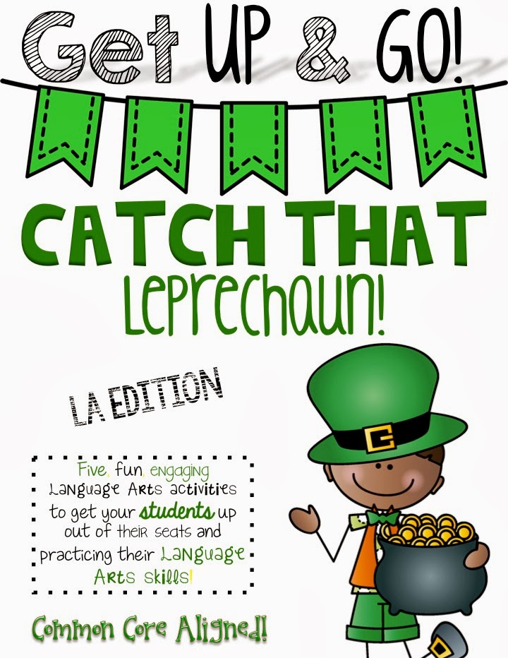 http://www.teacherspayteachers.com/Product/Get-Up-Go-Language-Arts-Activities-Leprechaun-Themed-1132317