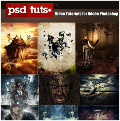 Video Tutorial PSD TutsPlus For Adobe Photoshop