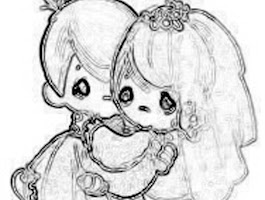 2012 Precious Moments Coloring Pages
