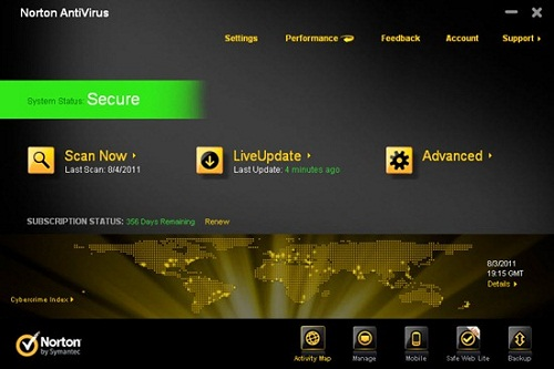 NAV2012UI Norton Internet Security 2012 dan Norton AntiVirus 2012 Rilis