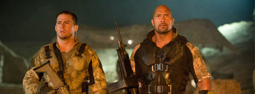 GI Joe Channing Tatum and Dwayne Johnson