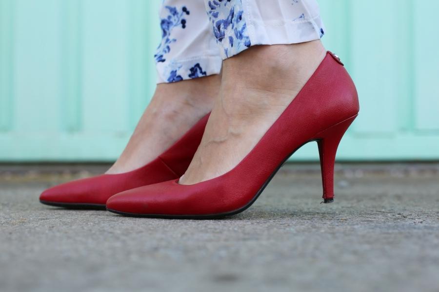 Zapatos rojos Michael Kors