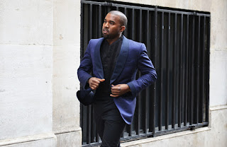 kanywe west suited