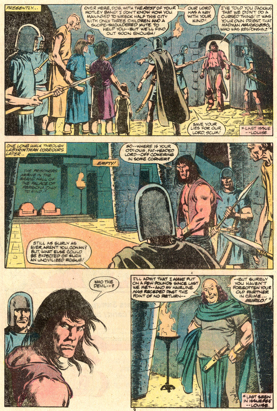 Conan the Barbarian (1970) Issue #123 #135 - English 4