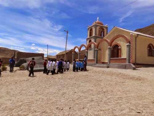 Die Kapelle in Rio San Pablo. Vor fünf Jahren fertig gestellt worden.