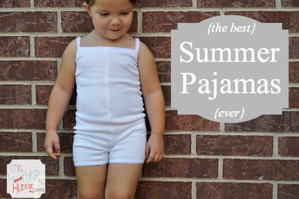 summer pjs sewing tutorial