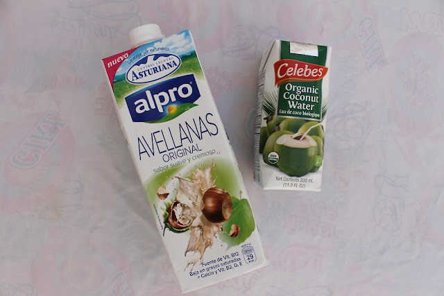 leche de avellanas