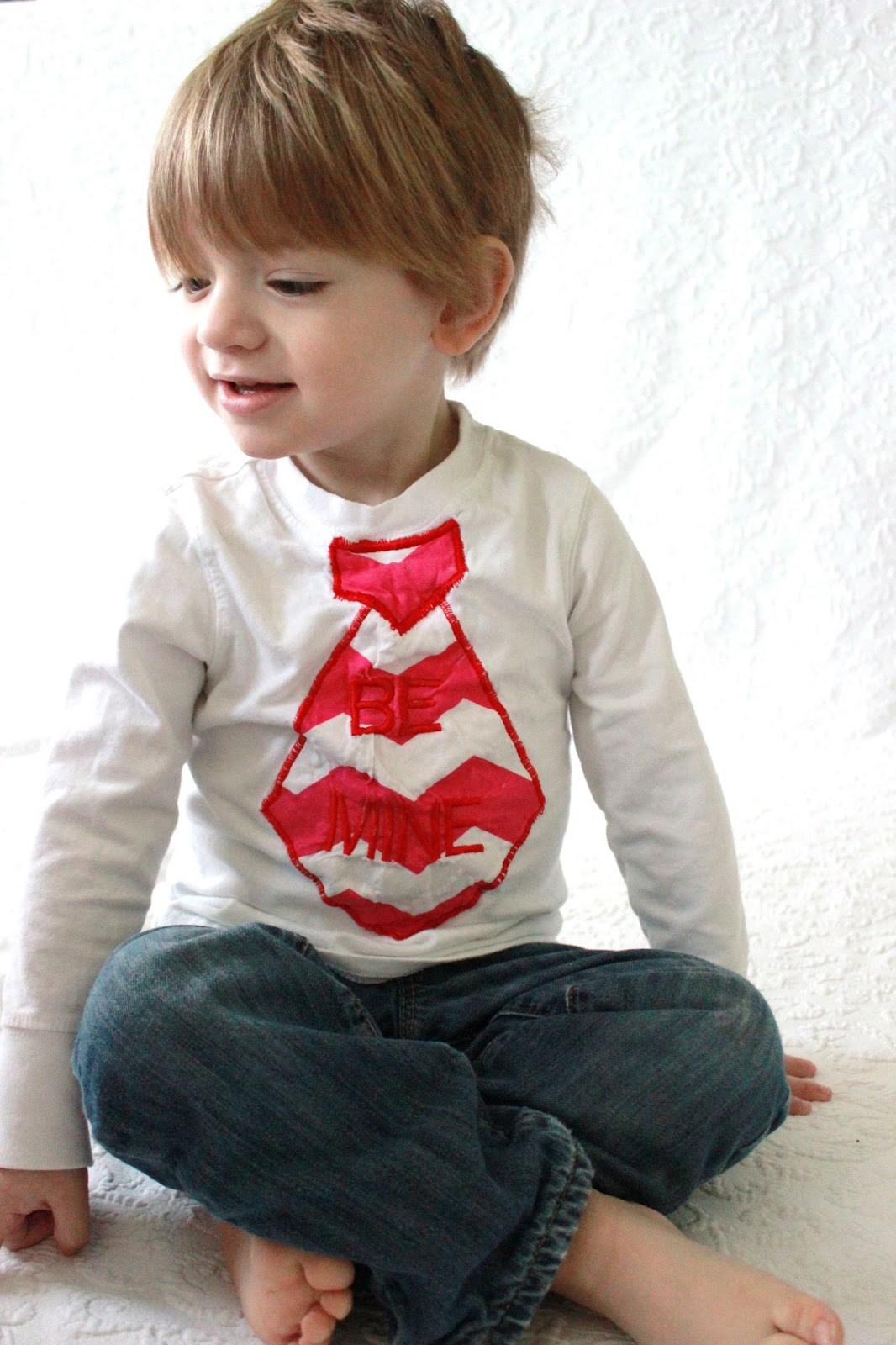 diy boy valentines day shirt