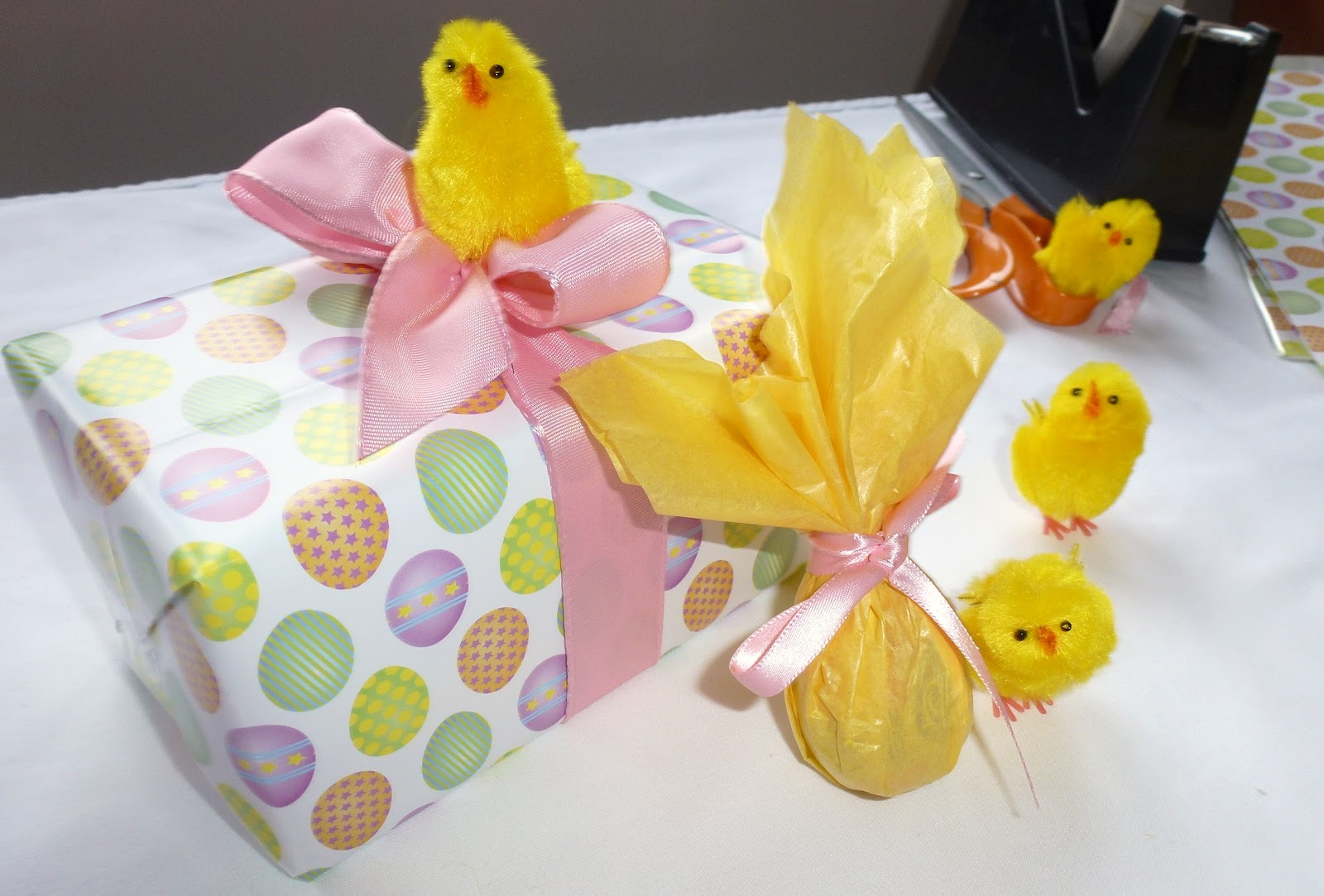 Utterly unique by karen kaye easter gift wrapping ideas easter gift wrapping ideas negle Image collections
